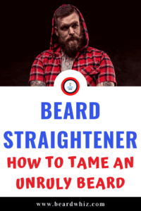 straightener for beard