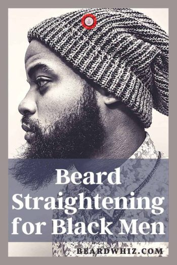 best beard straightener iron for black men