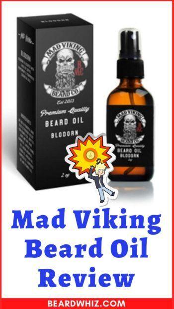 mad viking beard oil